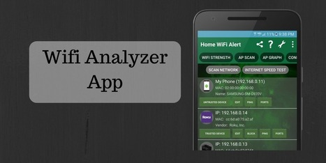 Map Your Network in a Graphical Display with Wifi Analyzer App | Technology | Scoop.it