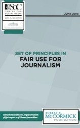 Finally: A Guide for Journalists to Navigate Fair Use of Copyrighted Material | Mediashift | PBS | Documentary Landscapes | Scoop.it