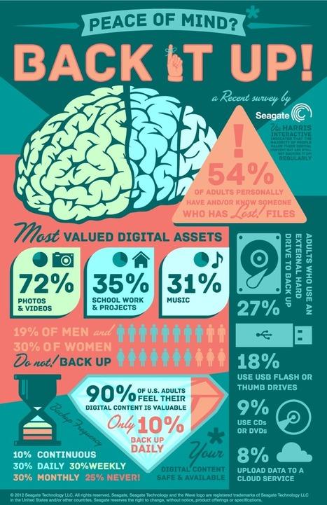 Don't Be A Fool: Be Sure To Make Back Up Files [Infographic] | Sociologie du numérique et Humanité technologique | Scoop.it