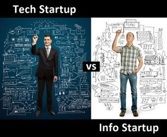 Tech Startup Vs. Info Startup | Edukn-do | Scoop.it