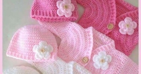 COMO HACER CHAQUETA DE VERANO PARA BEBE PASO A PASO | Patrones Crochet, Manualidades y Reciclado | Tejidos | Scoop.it