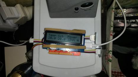 Cozy Heat Control with an Arduino | Raspberry Pi | Scoop.it