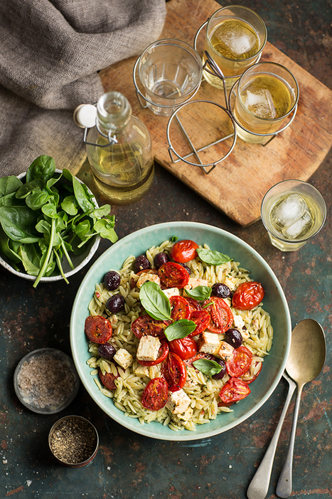 rosmarino pasta with roasted tomatoes, feta and olives | Passion for Cooking | Scoop.it