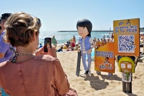 Fanta fait la tournée des plages pour promouvoir son advergame   streetmarketing   Scoop.it