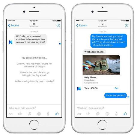 #Facebook annonce « M », un assistant personnel intégré à Messenger | Social media | Scoop.it