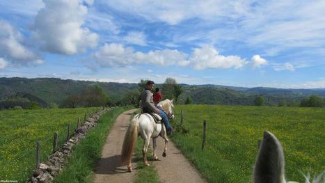 Aveyron, le paradis des cavaliers | L'info tourisme en Aveyron | Scoop.it