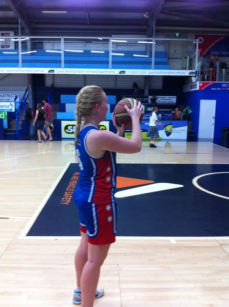 Sarah - Basketball Player | OHS Issues with Work & Leisure | Scoop.it