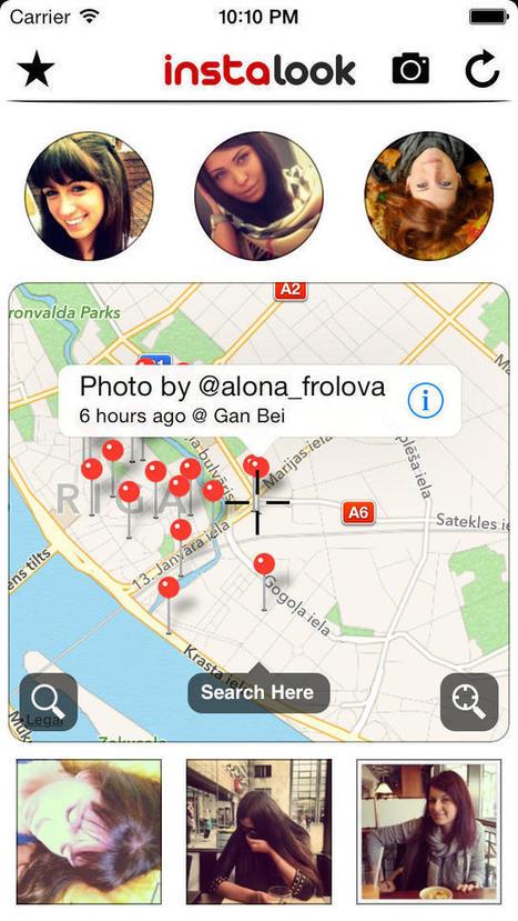 Instalook - Find Instagram Photos around you (Photography) | Handy Online Tools for Schools | Scoop.it