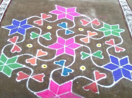 Divali (Diwali) Festival and Threshold Art (lesson) | Year 3 History: National Days and Celebrations - India | Scoop.it