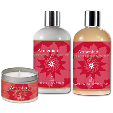 the pomegranate has been incorporated into skin care: Armenian Pomegranate Bath, Body & Soul! | Walk With Me, I'm Walking In Wellness | Scoop.it