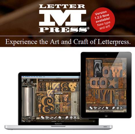 Graphisme & interactivité blog de design par Geoffrey Dorne » Créez de la typographie «à l'ancienne» avec votre Mac et «Letter M Press». | Typography, graphisme & curiosités graphiques | Scoop.it