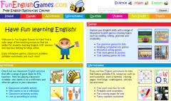 Fun English Games   Edumathingy   Scoop.it