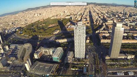 Un drone graba un vídeo asombroso Barcelona | Turismo, Redes y Conocimiento | Scoop.it