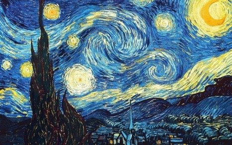 Van Gogh's Most Famous Painting the Starry Night Comes to Life - Artsnapper | NY Art Scene | Scoop.it