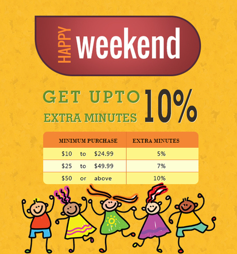 Amantel Offer - Get upto 10% Extra Minutes | Cheap International Calling | Scoop.it