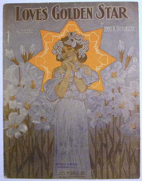 "ORIGINAL Antique 1907 Sheet Music ""Love's Golden Star""  11 x 14 Large Format | Daily Paper | Scoop.it"