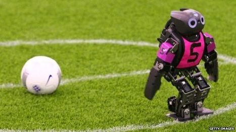 Japan's humanoids scoop 1-0 win at RoboCup - BBC News | Cyborg Anthropology: the rise of the machines | Scoop.it