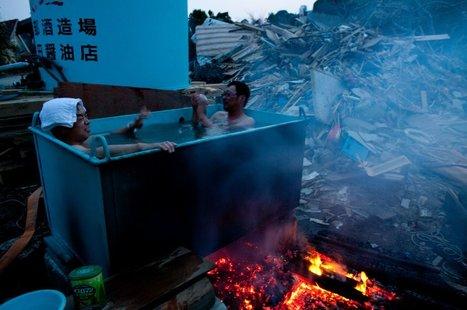 [Photos] On se débrouille comme on peut à Kesennuma ! | SPIEGEL ONLINE | Japon : séisme, tsunami & conséquences | Scoop.it
