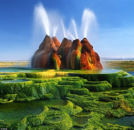 My greatest world destination: Really amazing nature: Fly Geyser Nevada | Sport | Scoop.it