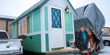 Homeless Say These Tiny Houses Are 'Life Changing' | Living Little | Scoop.it