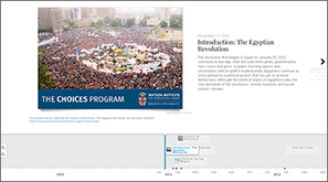 The Egyptian Revolution: An Interactive Timeline   Geography   Scoop.it
