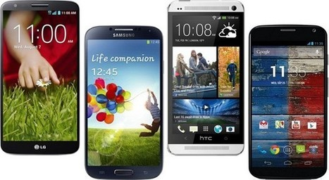 LG G2 vs. the competition: flagship Android smartphones square off   Mobile IT   Scoop.it