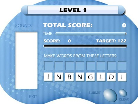 Word Games | Create: 2.0 Tools... and ESL | Scoop.it