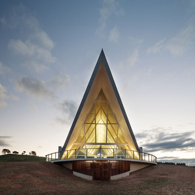 National Arboretum Pavilion by Zulaikha Greer Architects in Canberra, Australia | sustainable architecture | Scoop.it