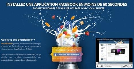 Socialshaker : une gamme d'applications pour vos pages Facebook > Testé et approuvé ! | E-réputation & tourisme | Scoop.it