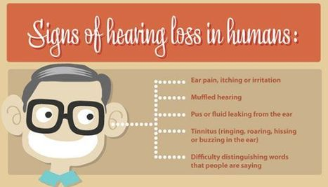 Signs of #Hearingloss in humans | Decibel Speech and Hearing Clinic | Scoop.it