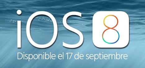 iOS 8: Todas las Novedades del Nuevo iOS de Apple | Noticias Sistemas Operativos para Móviles | Scoop.it