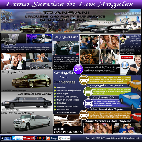 Limo Service In Los Angeles | Limo Service In Los Angeles | Scoop.it