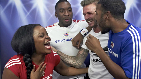 TONY POTTS: David Beckham Surprises Fans In Adidas' Magic Photo Booth | TonyPotts | Scoop.it