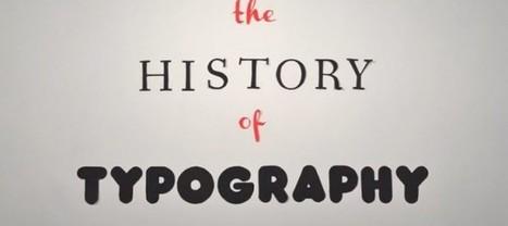 La historia de la tipografía en stop motion | IAVQ | Teoría e Historia del Arte y del Diseño | Scoop.it