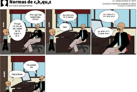 La gramática en cómics | Español para los más pequeños | Scoop.it