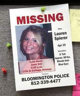 Vigil planned for 6-month anniversary of IU student's disappearance | Lauren Spierer | Scoop.it