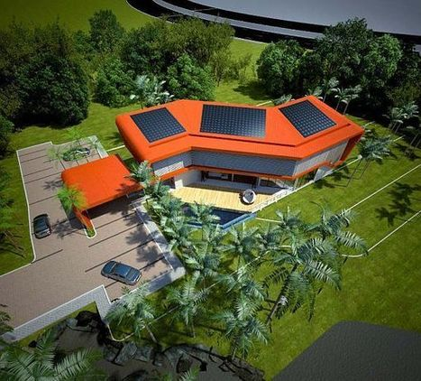 Modular Eco House in Malaysia by Broadway Malyan | Green Living | Scoop.it