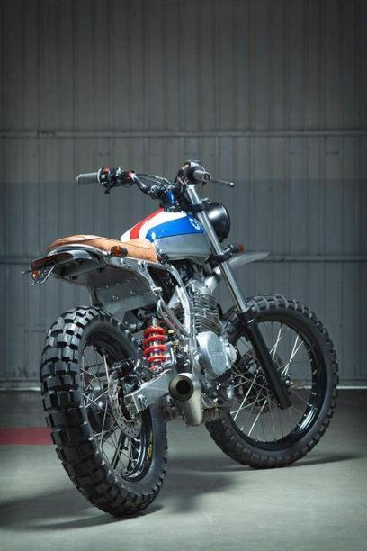 "HONDA NX650 ""CUSTOM SCRAMBLER"" by KIDDO MOTORS 
