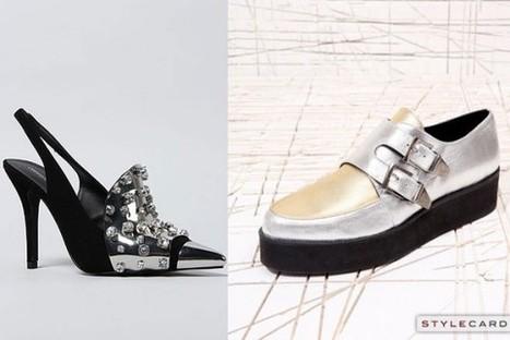 Trends: Metallic Footwear   StyleCard Fashion Portal   StyleCard Fashion   Scoop.it