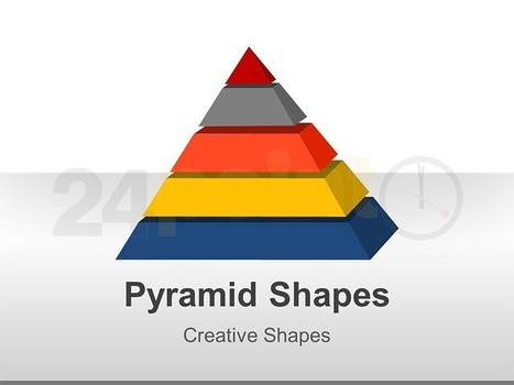 3D Pyramid - Angle View in PowerPoint | Pyramid | Scoop.it