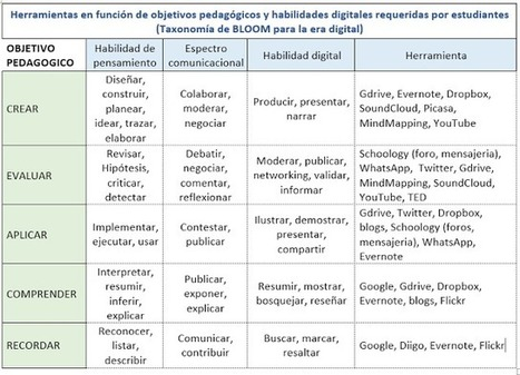 Bitácora de actividades Curso TIC en Educación - Coursera (UNAM) mayo-junio 2013: 4ta entrega: Habilidades digitales requeridas por los actores en el ambiente de aprendizaje | Aprendiendo a Distancia | Scoop.it