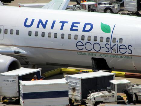 United Airlines réduit sa consommation de carburant   Le flux d'Infogreen.lu   Scoop.it