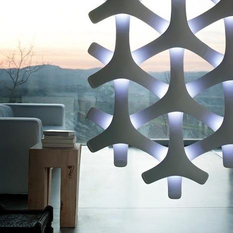 Sculptural Lamp System | designdrool | Scoop.it