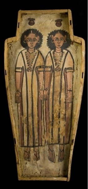 A double Coffin from Roman Egypt. Double Nut…double Funeral ... | Ancient Burial Traditions | Scoop.it