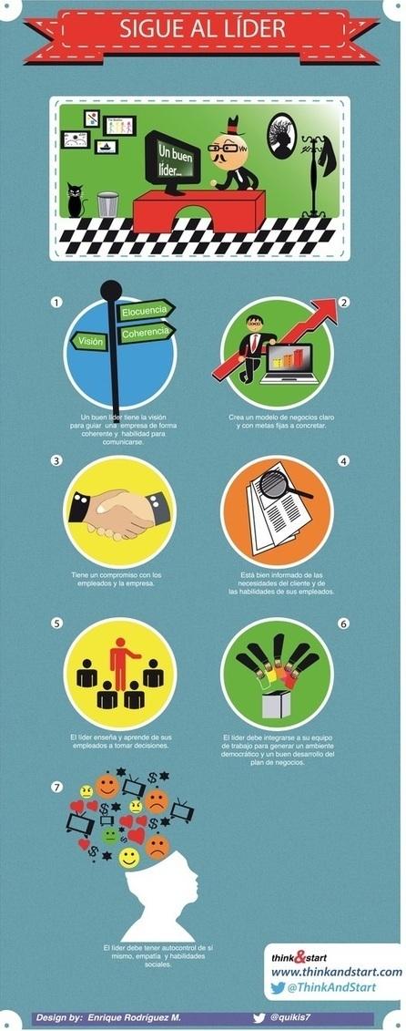 Características de un buen líder (infografía) | CALIDAD DIRECTIVA | Scoop.it