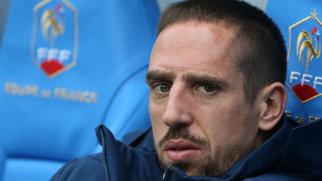 Ribery out of the World Cup for France   World Cup 2014   Scoop.it