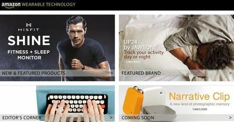 Amazon Wearable Technology Store Opens for Business - NBCNews.com | e-textiles | Scoop.it