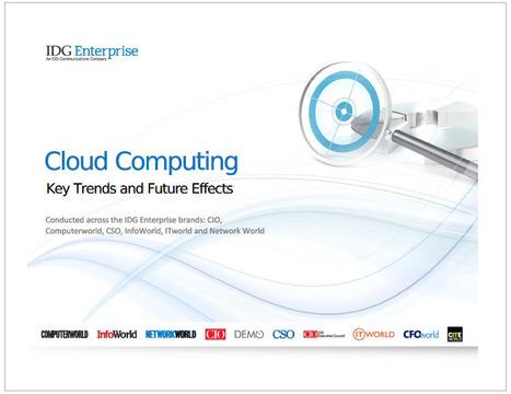 """IDG Enterprise: """"Cloud Computing 2013""""   Tendencias en cloud computing   Scoop.it"""