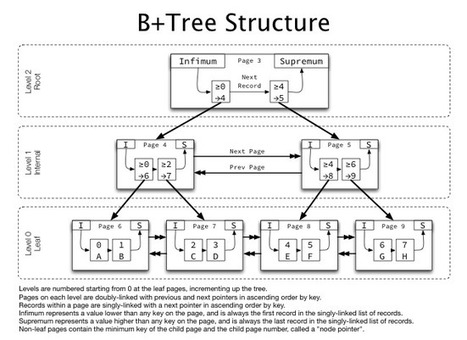 B+Tree index structures in InnoDB | AoJ | Scoop.it