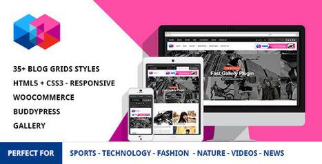 Smew - Multipurpose Magazine Wordpress Theme (News / Editorial) - Creative WordPress Theme | Creative Wordpress Theme | Scoop.it